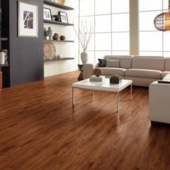 "COREtec Plus 5"" Plank Gold Coast Acacia VV023-00201 room scene"